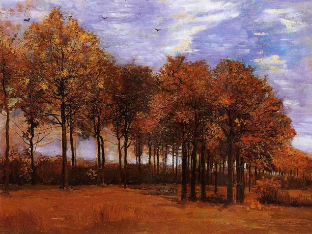 Autumn Landscape, Vincent Van Gogh