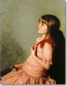 Γύζης Νικόλαος-Η Αποστήθιση, 1883