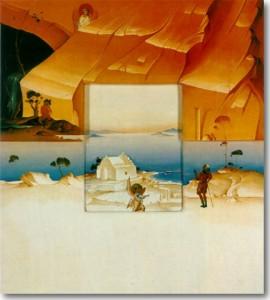 Δέρπαπας Γιώργος-Τοπίο με Αγγέλους, 1982