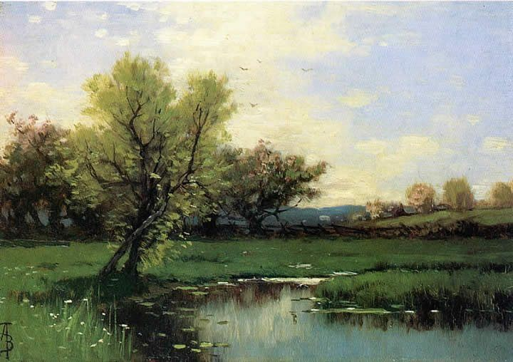Alfred Thompson Bricher, Springtime