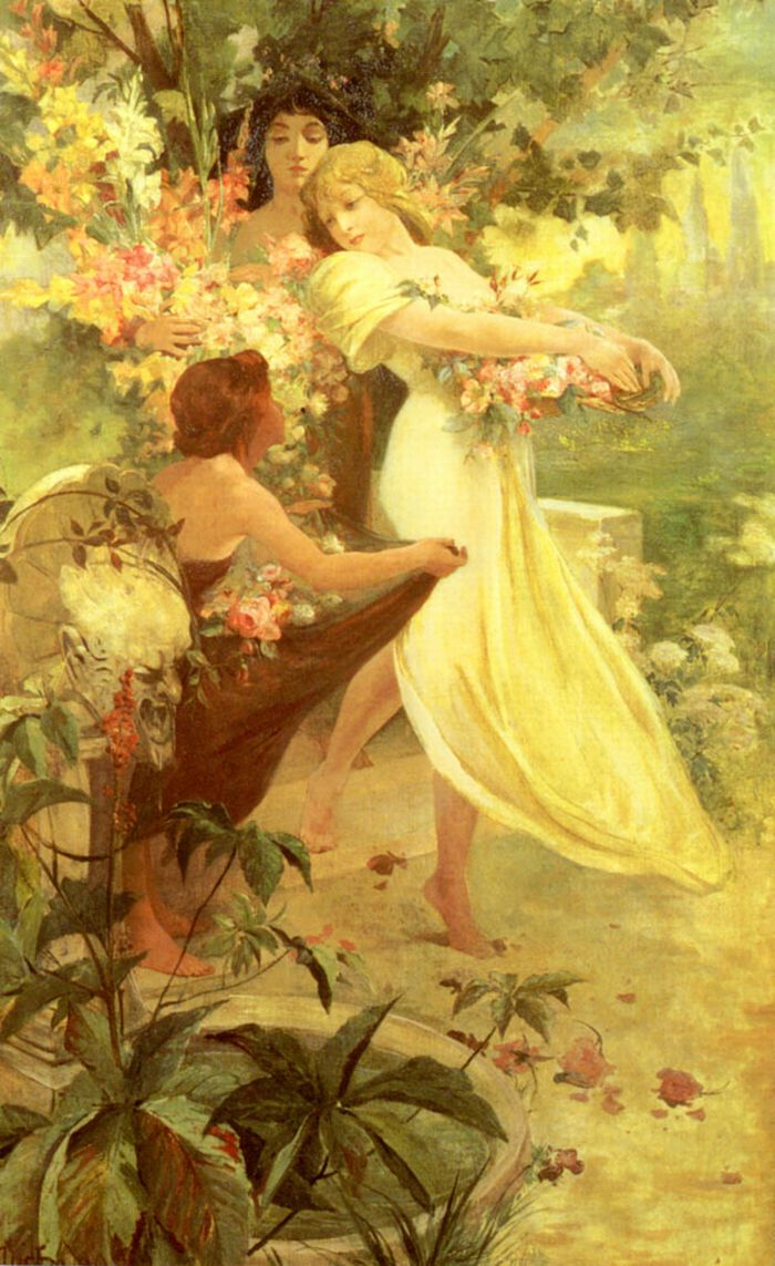 Alphonse Maria Mucha, Spirit of Spring