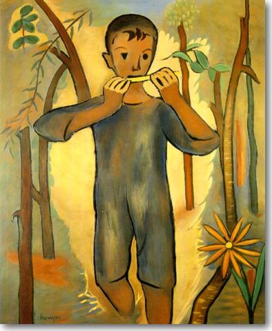 Κανέλλης Ορέστης-Το Παιδί με το Ηλιοτρόπιο, περ. 1948