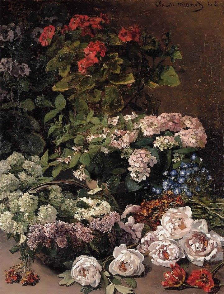 Claude Monet Monet, Spring Flowers