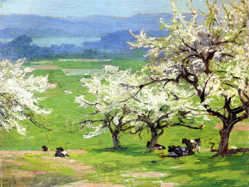 Edward Henry Potthast, Springtime