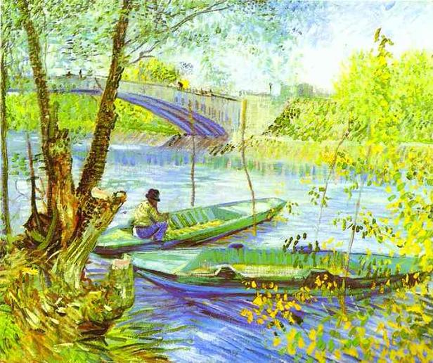 Fishing in Spring, Van Gogh