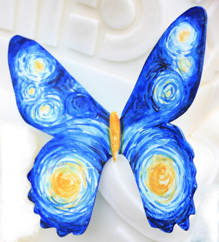 Van Gogh-Gumpaste Butterfly