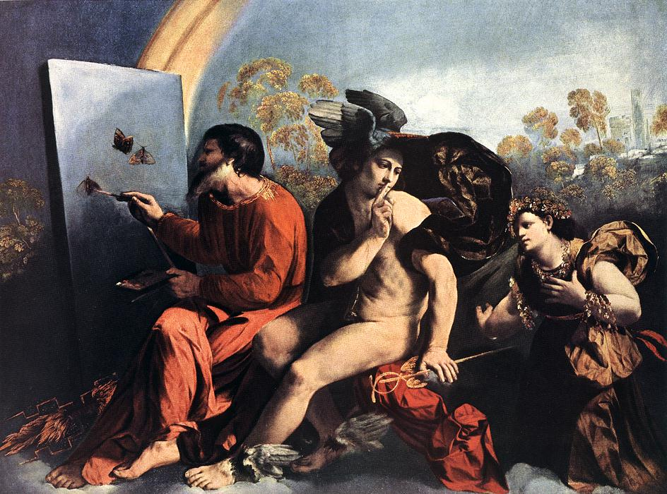 Jupiter, Mercury and the Virtue