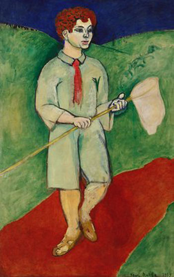Henry Matisse, Boy with Butterfly Net,1907