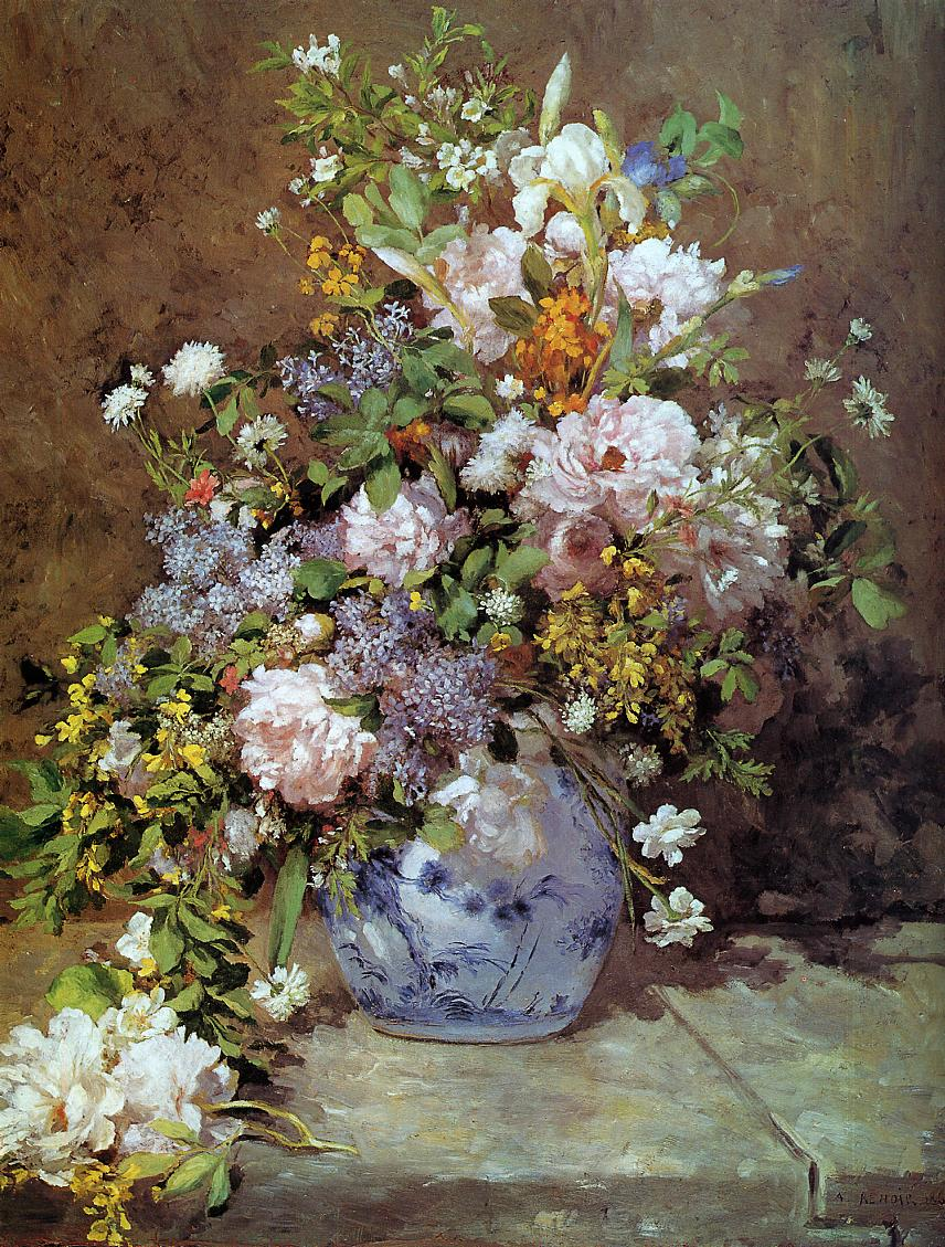 Pierre Auguste Renoir, Spring Bouquet