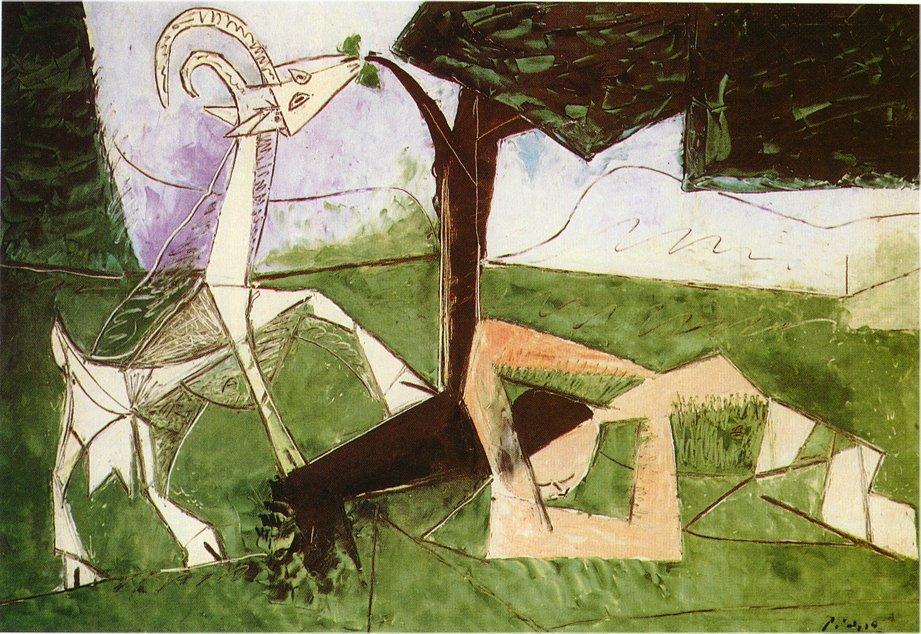 Picasso, Spring, 1956