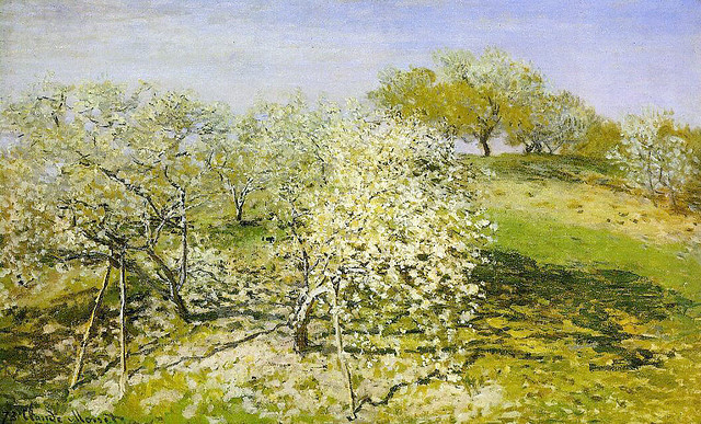 Claude Monet, Springtime (Apple Trees In Bloom)