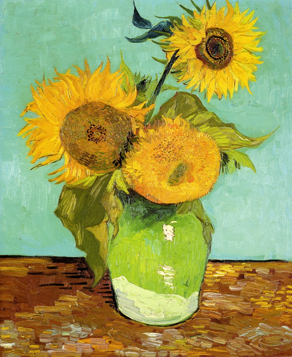 Vincent van Gogh, Sunflowers,1888