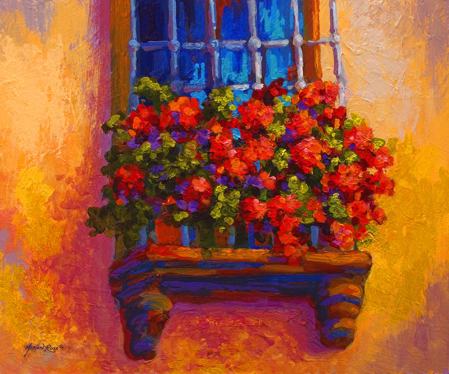 Marion Rose, Window Box
