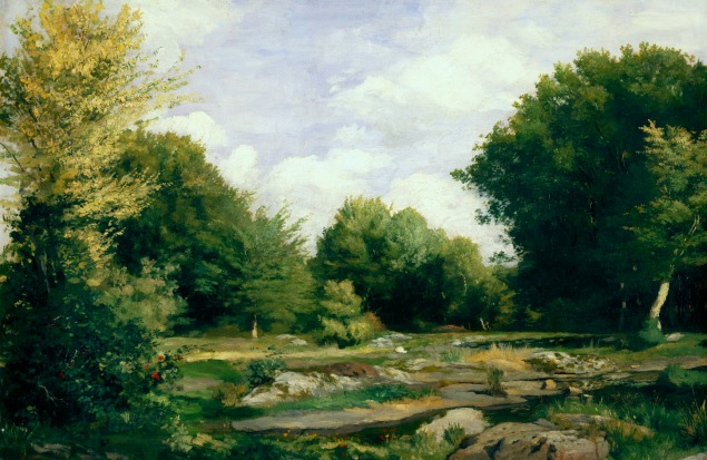 A Clearing in the Woods, 1865
