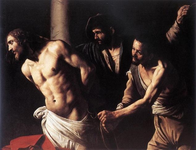 Christ at the Column, Caravaggio, περ 1606