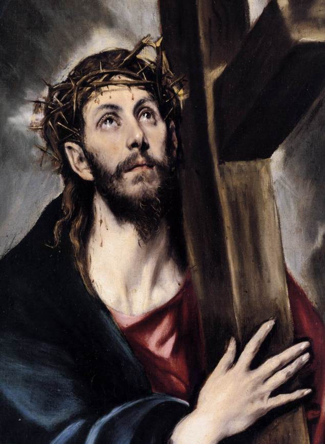 Christ Carrying the Cross, El Greco, περ. 1580
