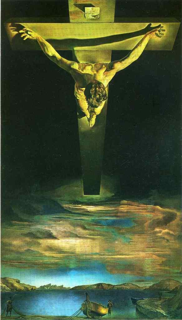 Christ of Saint John of the Cross, Salvador Dali, 1951
