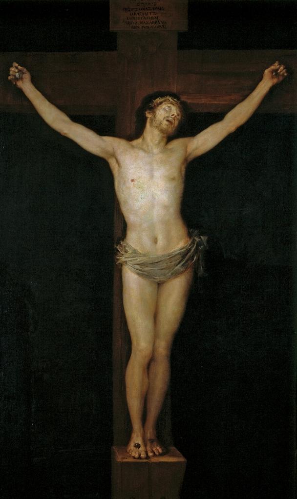 Cristo en la cruz, Francisco Goya, 1780