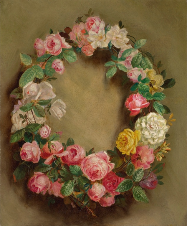 Crown of Roses, 1858