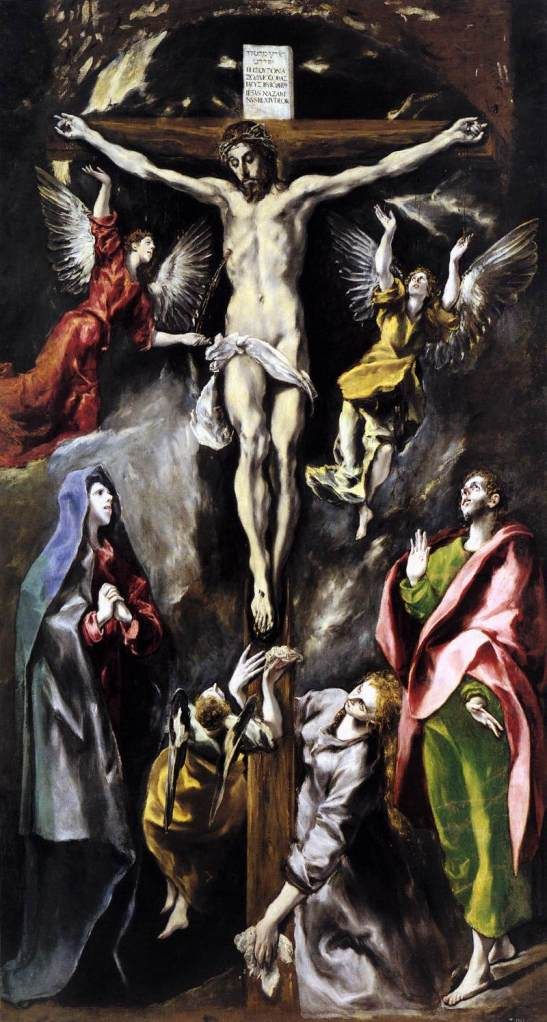 Crucifixion (Prado), El Greco