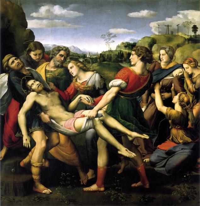 Deposition, Pala Baglione, Raphael, 1507