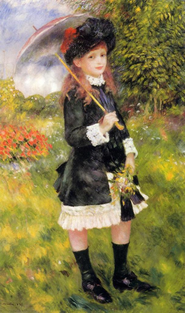 Girl with a Parasol, 1883