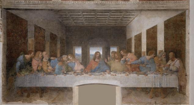 La ultima Cena (Last Supper), Leonardo Da Vinci, 1495-98
