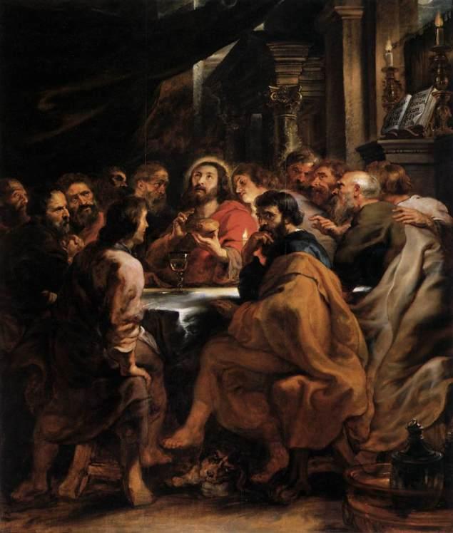 Last Supper, Peter Paul Rubens, περ, 1630-31