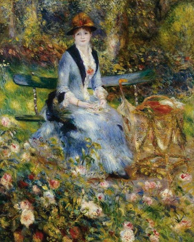Madame Leon Clapisson among the Roses, 1882