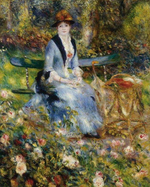 Madame Leon Clapisson among the Roses, 1882