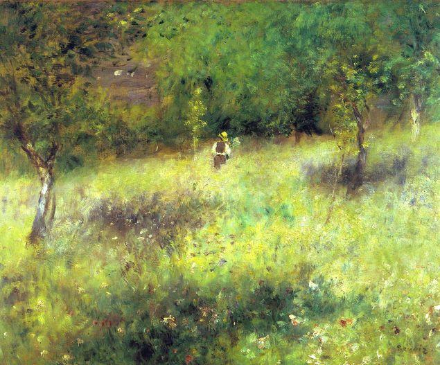 Spring at Chatou, 1872-73