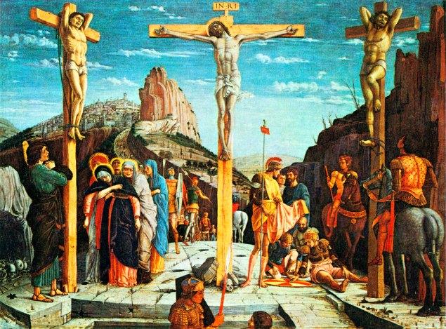 The crucifixion, Andrea Mantegna, 1457-59