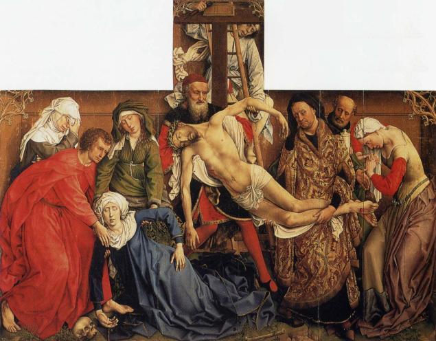 The descent from the Cross, Van der Weyden, 1435