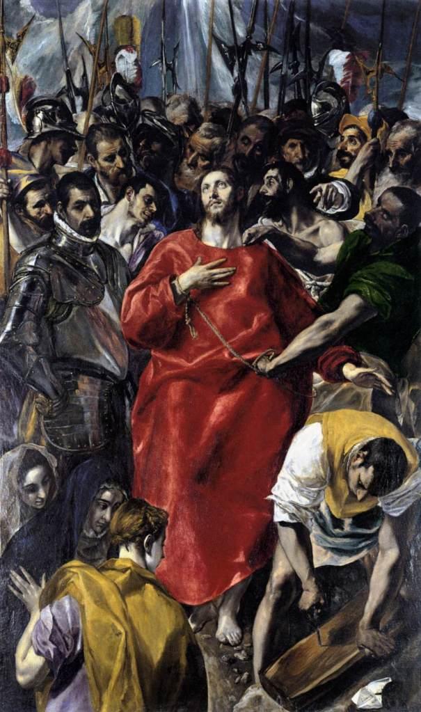 The Disrobing of Christ, El Greco