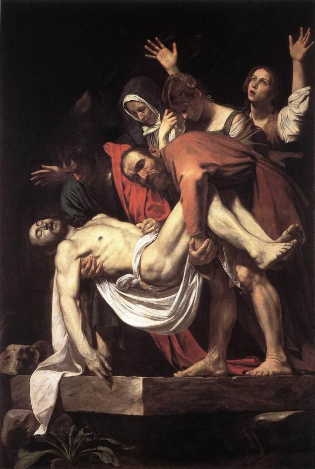 The Entombment of Christ, Caravaggio, περ. 1602
