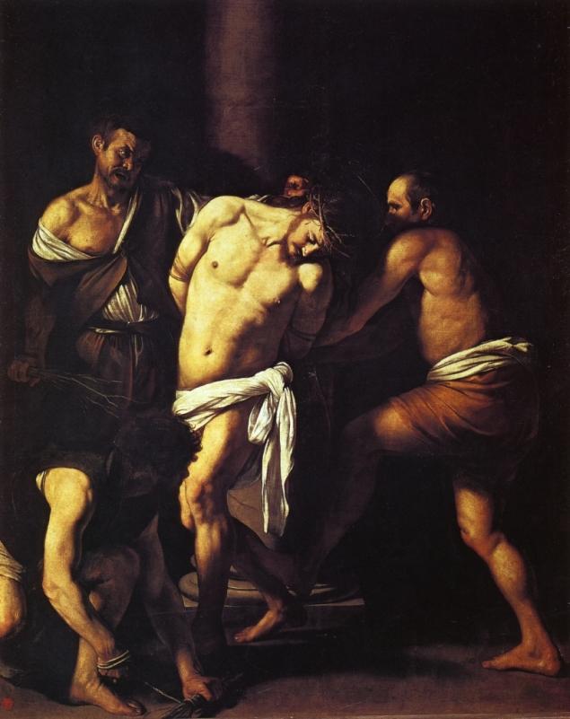 The Flagellation of Christ, Caravaggio, 1610