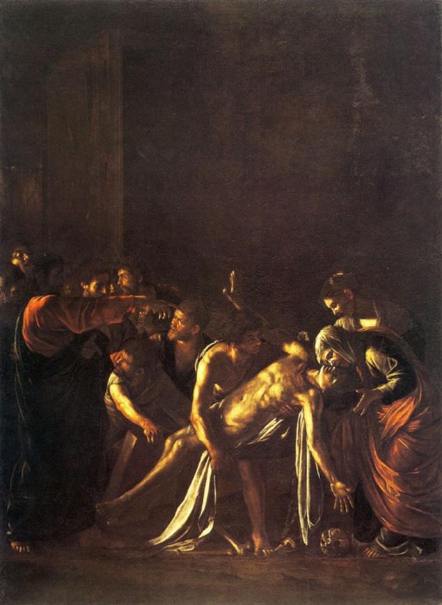 The Raising of Lazarus (Caravaggio), 1609