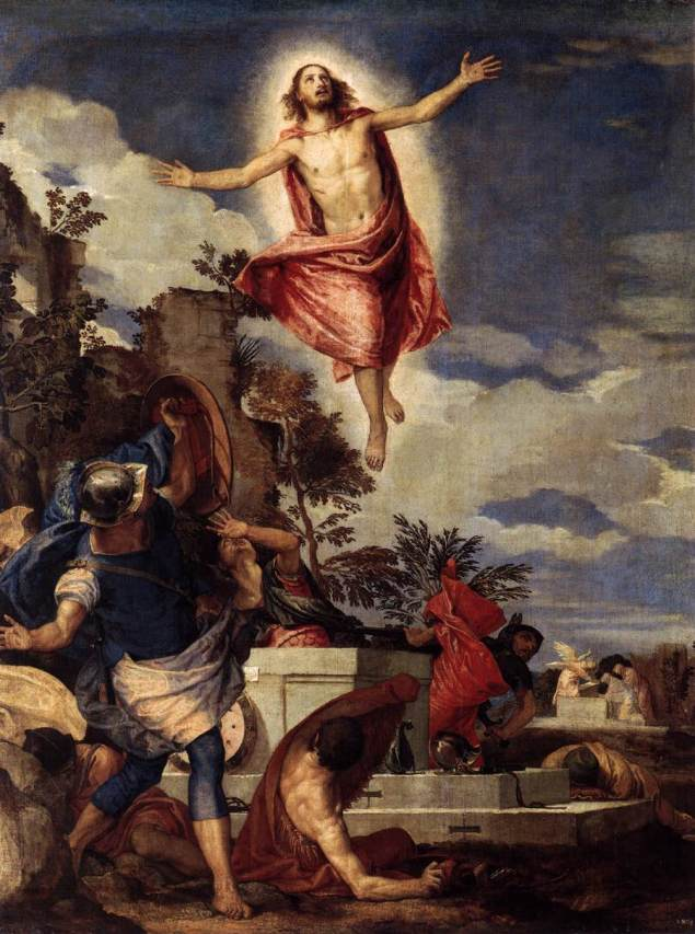 The Resurrection of Christ, Paolo Veronese, 1570