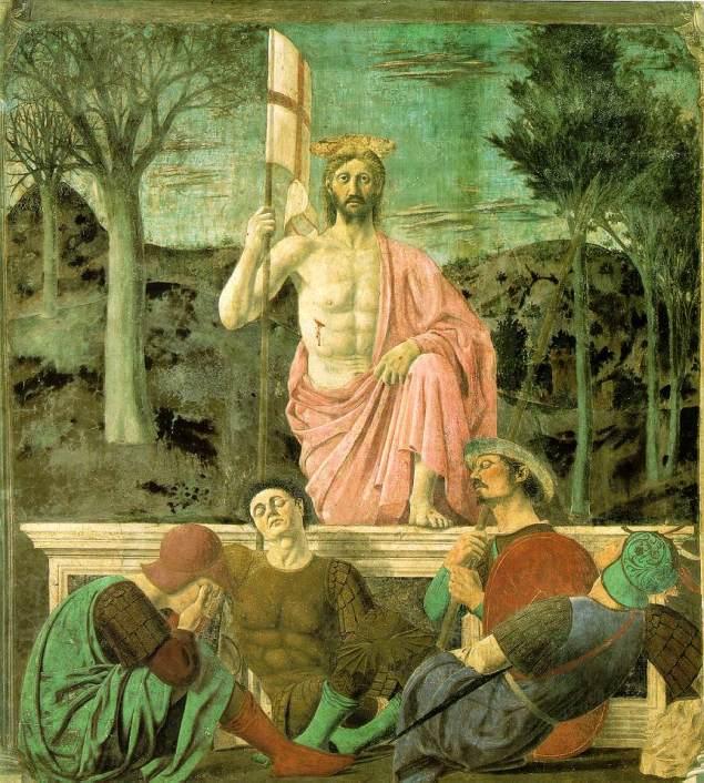 The Resurrection, Piero della Francesca, περ. 1460 (fresco)