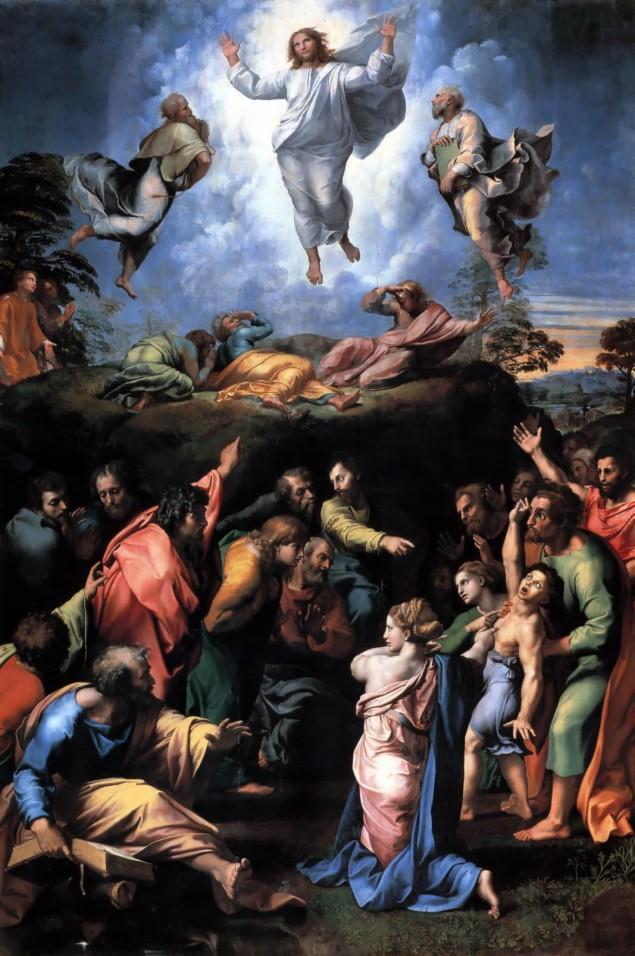 Transfiguration, Raphael, περ. 1516