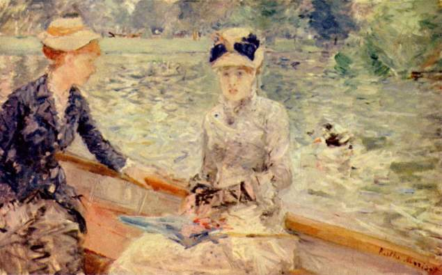 BERTHE MORISOT, Summer day, 1879
