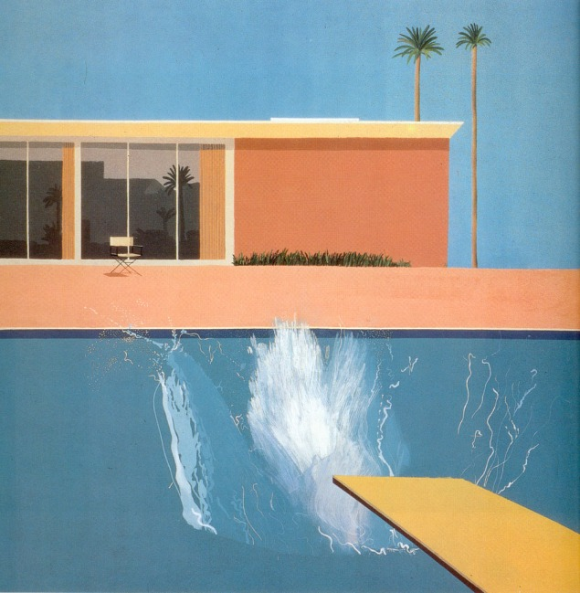 David Hockney A Bigger Splash (1967)