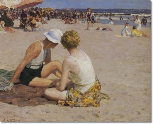 Edward Henry Potthast A Summer Vacation