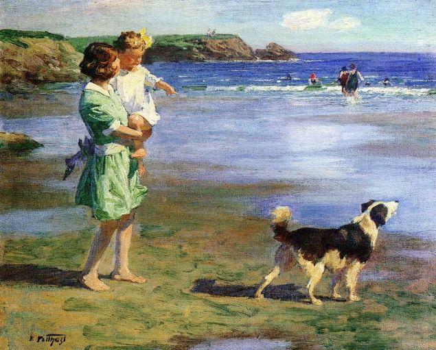 Edward Henry Potthast Summer Pleasures