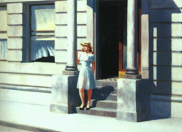 Edward Hopper - Summertime
