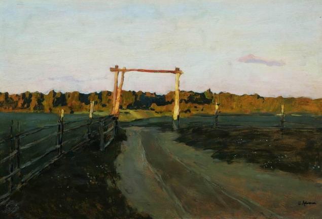 Isaac Levitan Summer Evening (1899)