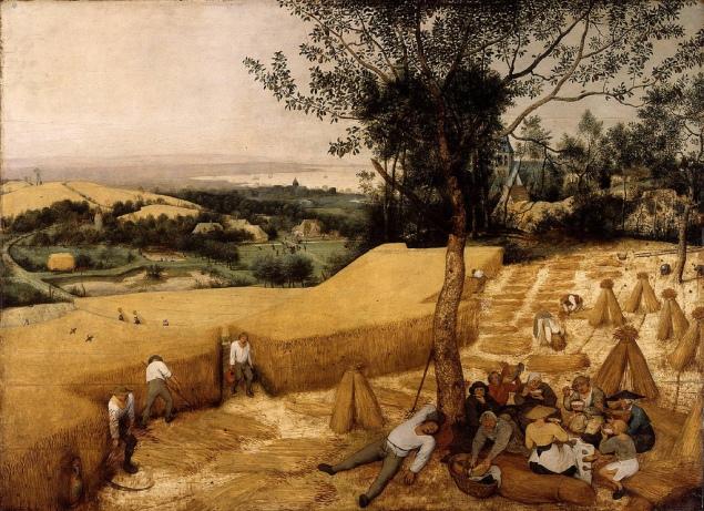 Pieter Bruegel-The Harvesters (1565)
