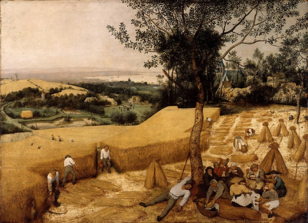Pieter Bruegel-The Harvesters (1565)