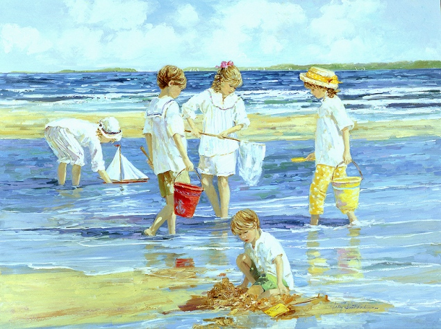Sally Swatland- Summer on Long Island