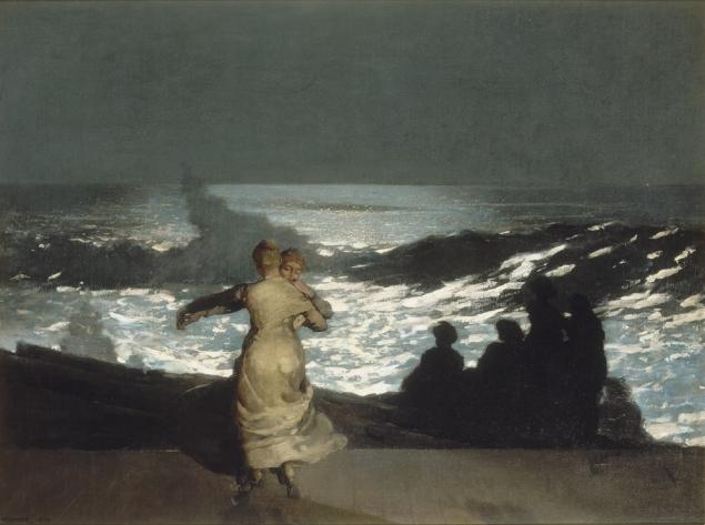 Winslow Homer, Summer night, 1890